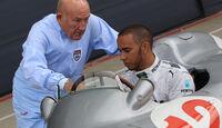 Lewis Hamilton & Stirling Moss