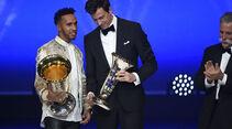 Lewis Hamilton - Toto Wolff - Chase Carey - FIA Preisverleihung - Versailles