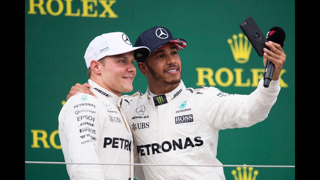 Lewis Hamilton - Valtteri Bottas - Formel 1 - GP England - 16. Juli 2017