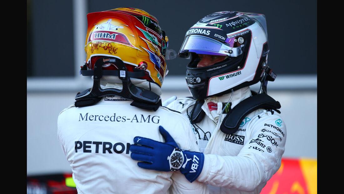 Lewis Hamilton - Valtteri Bottas - GP Aserbaidschan 2017 - Baku - Qualifying
