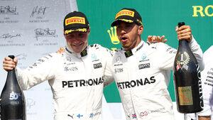 Lewis Hamilton & Valtteri Bottas - GP Kanada 2017