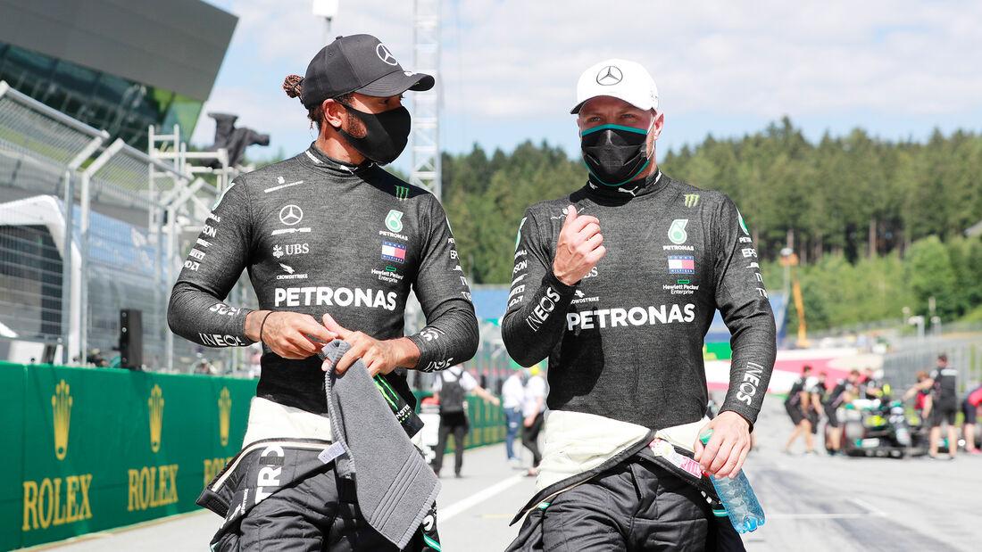 Lewis Hamilton & Valtteri Bottas - GP Österreich 2020