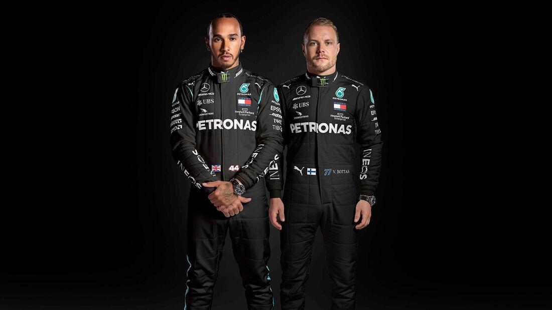 Lewis Hamilton & Valtteri Bottas - Mercedes - 2020