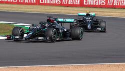 Lewis Hamilton - Valtteri Bottas - Mercedes - GP 70 Jahre F1 - Silverstone