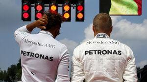 Lewis Hamilton & Valtteri Bottas - Mercedes - GP Belgien 2017