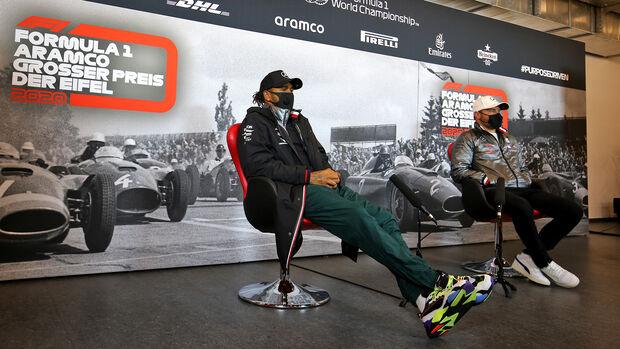 Lewis Hamilton - Valtteri Bottas - Mercedes - GP Eifel 2020 - Nürburgring