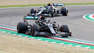 Lewis Hamilton - Valtteri Bottas - Mercedes - GP Emilia-Romagna 2020 - Imola