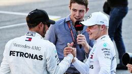 Lewis Hamilton - Valtteri Bottas - Mercedes - GP Russland - Sotschi - Formel 1 - Samstag - 29.9.2018