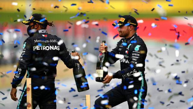 Lewis Hamilton - Valtteri Bottas - Mercedes - GP Steiermark 2020 - Spielberg