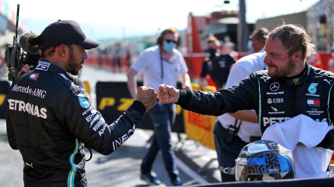 Lewis Hamilton - Valtteri Bottas - Mercedes - GP Toskana 2020 - Mugello