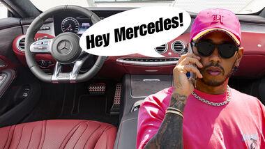 Lewis Hamilton Vegan Cockpit Mercedes