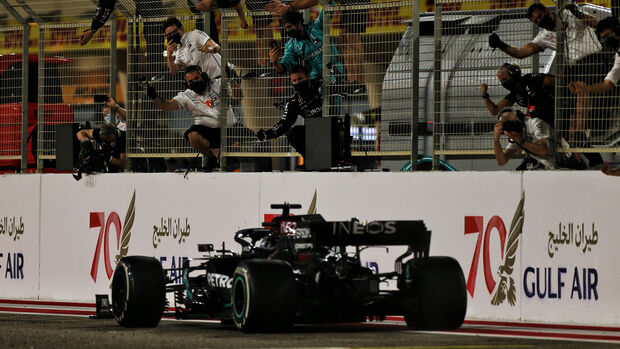 LewisHamilton - Mercedes - GP Bahrain 2020 - Sakhir - Rennen