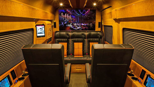 Lexani Luxus-Sprinter Innenraum