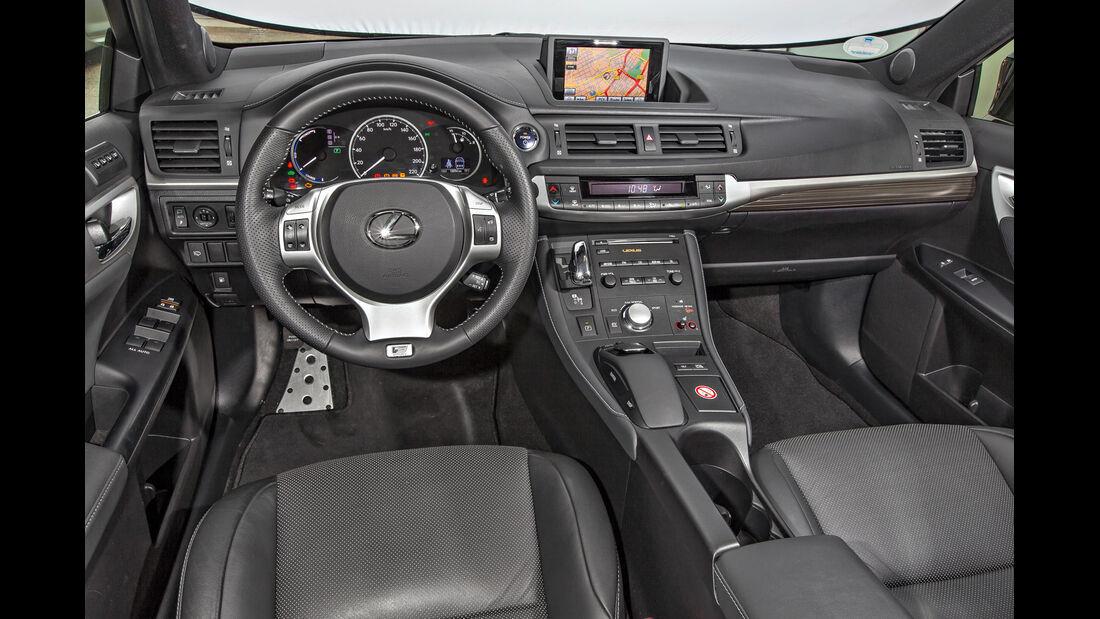 Lexus CT 200h, Cockpit
