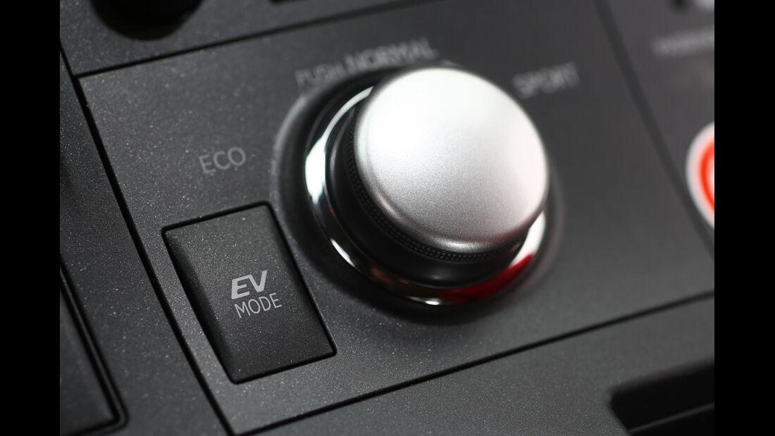 Lexus CT 200h, Drehregler