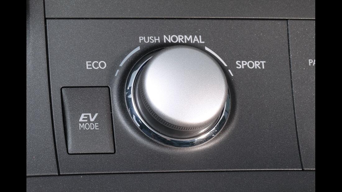 Lexus CT 200h Hybrid Drive, Fahreinstellung