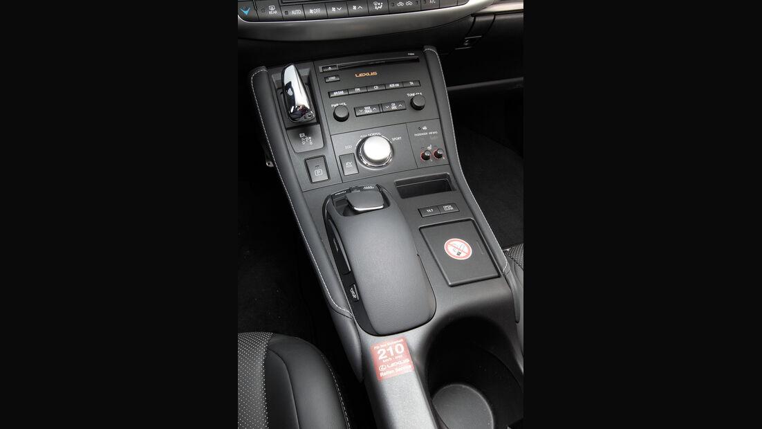 Lexus CT 200h Hybrid Drive, Mittelkonsole