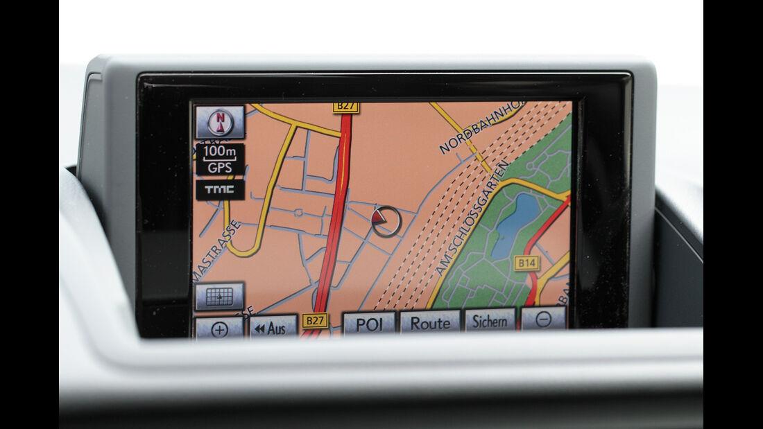 Lexus CT 200h Hybrid Drive, Navi, Bildschirm