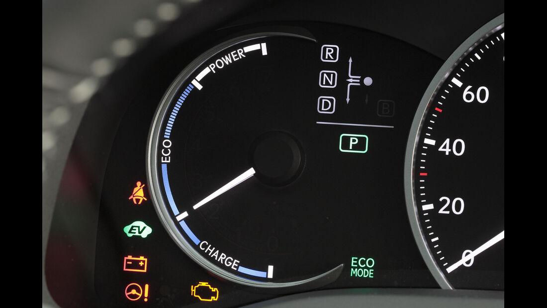 Lexus CT 200h Hybrid Drive, Rundinstrument, Anzeige