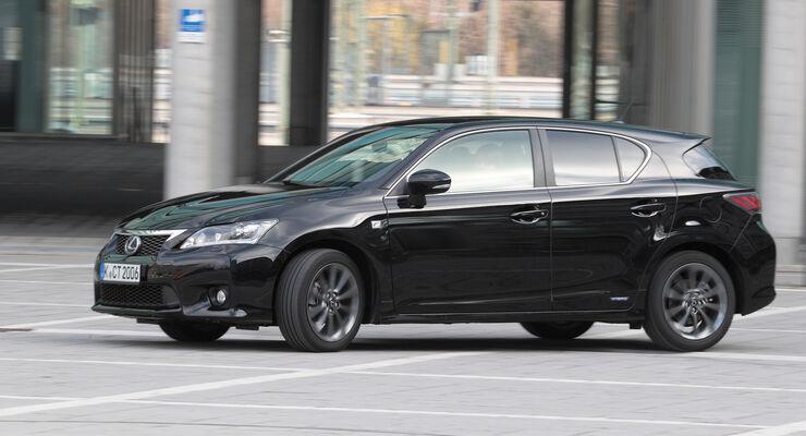 Lexus CT 200h Hybrid Drive, Seitenansicht