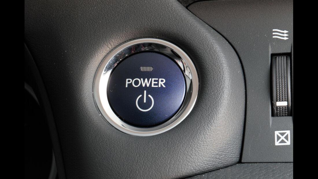 Lexus CT 200h Hybrid Drive, Startknopf