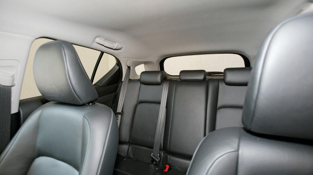 Lexus CT 200h, Innenraum, Sitze
