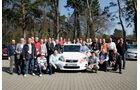 Lexus CT 200h, Leser, Gruppenbild