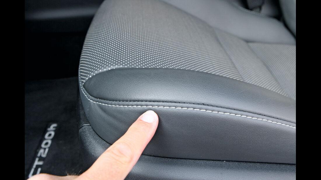 Lexus CT 200h, Lexus iQ, Sitz