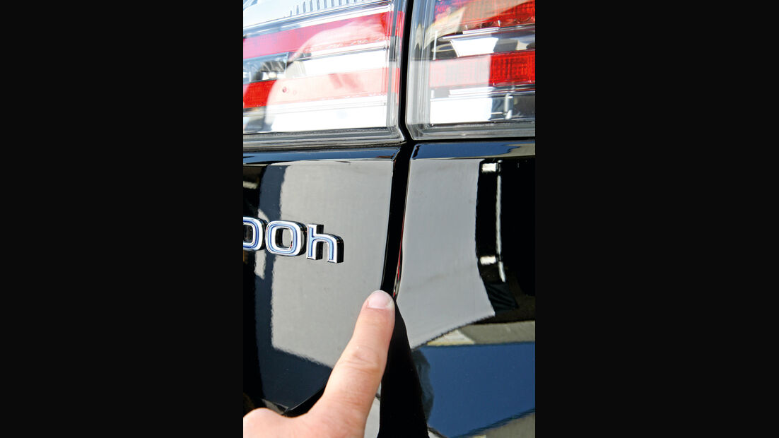 Lexus CT 200h, Lexus iQ, Spatmaße