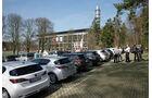 Lexus CT 200h, Rückansicht, Parkplatz, Testfahrten