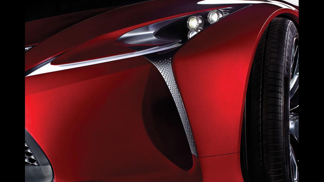 Lexus Concept Car Detroit Motor Show 2012