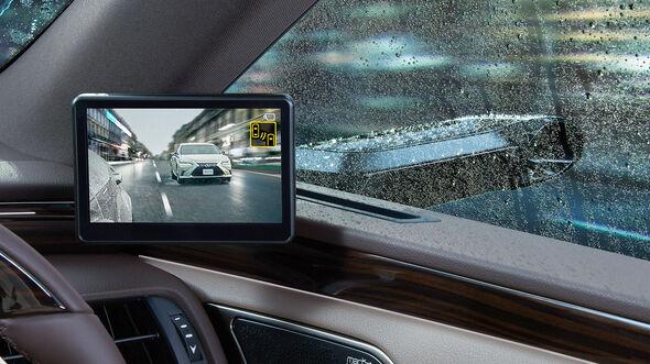 Lexus ES Außenspiegel Kamera Monitor