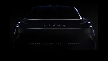 Lexus EV Elektroauto Teaser 2021