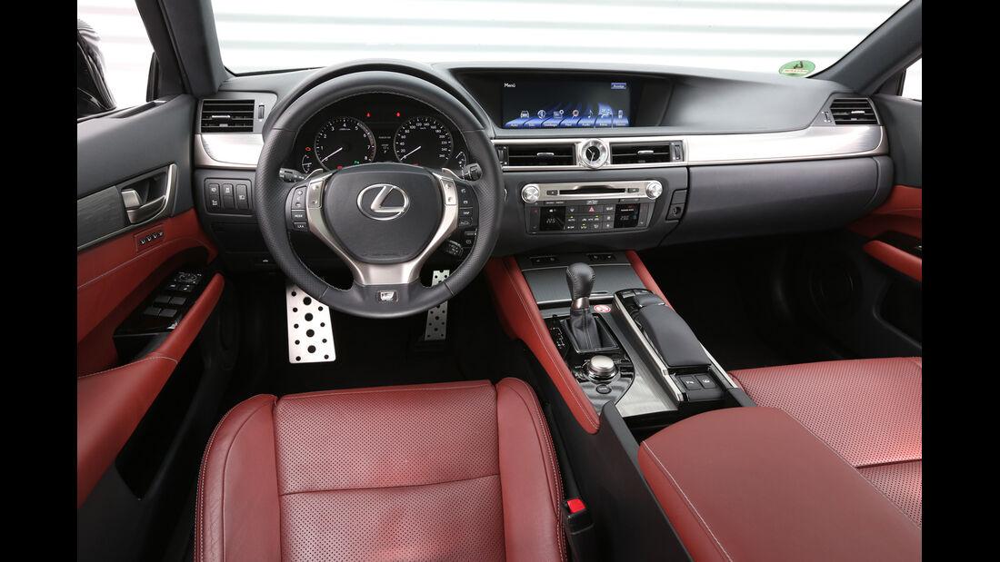 Lexus GS 250 F-Sport, Cockpit, Lenkrad