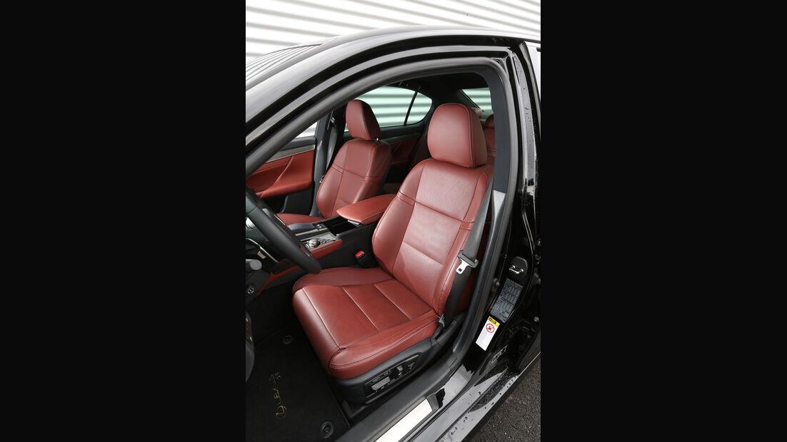 Lexus GS 250 F-Sport, Fahrersitz
