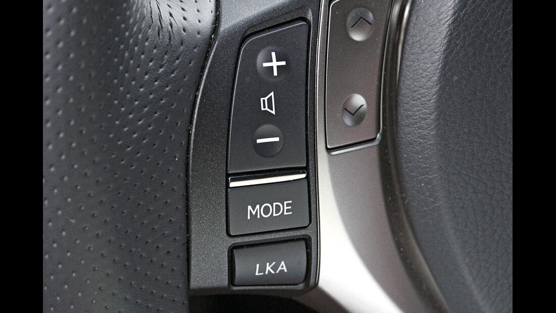 Lexus GS 250, Tasten