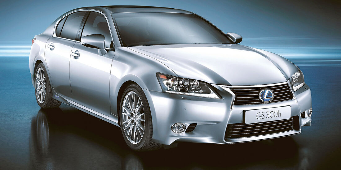 Lexus GS 300h, Frontansicht