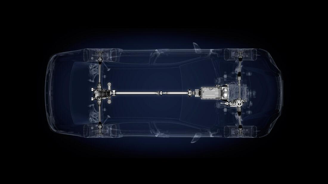 Lexus GS 450h, Antrieb, Bildschirm