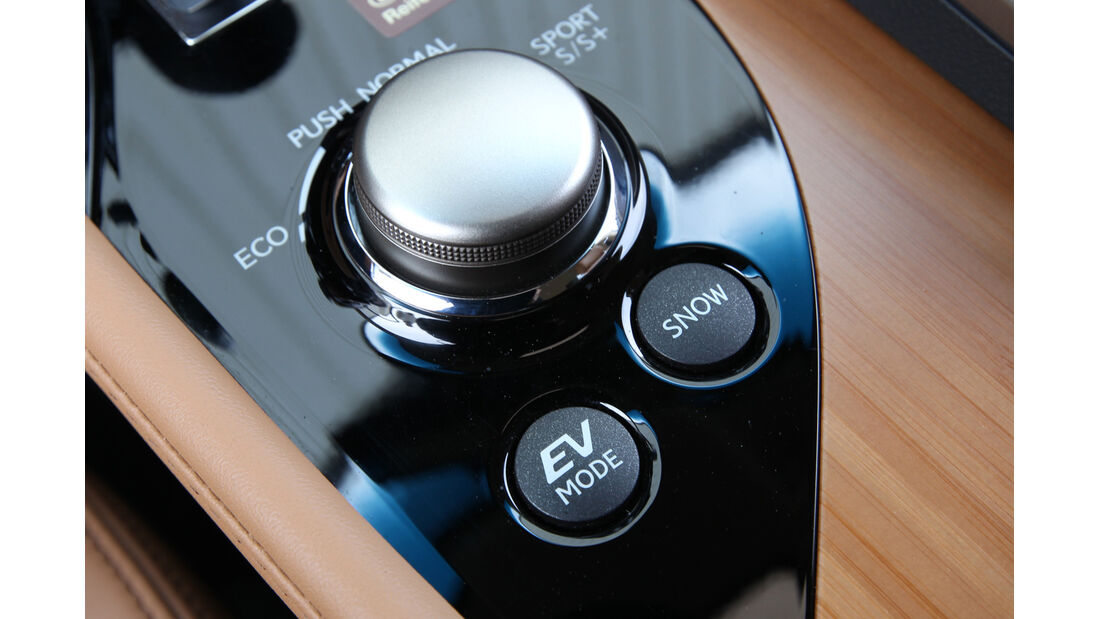 Lexus GS 450h, Bedienelemente