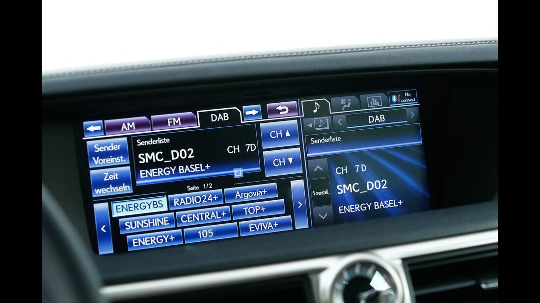 Lexus GS 450h, Bildschirm