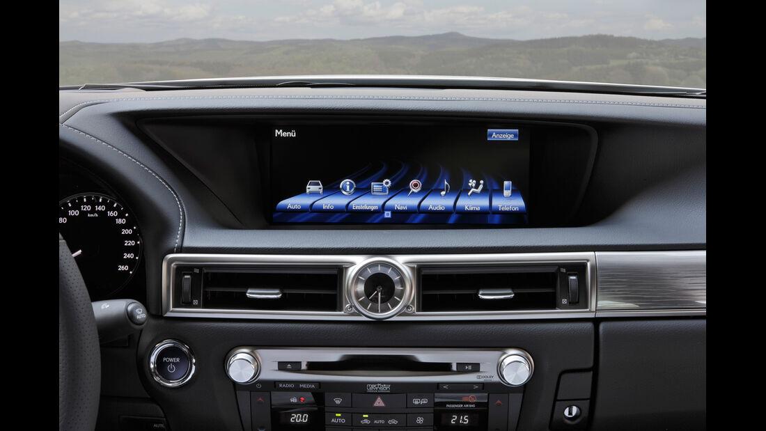 Lexus GS 450h, Bildschirm, Anzeige