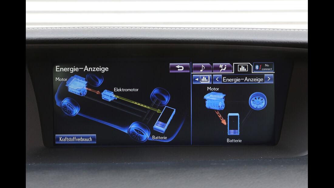 Lexus GS 450h F-Sport, Anzeige, Monitor