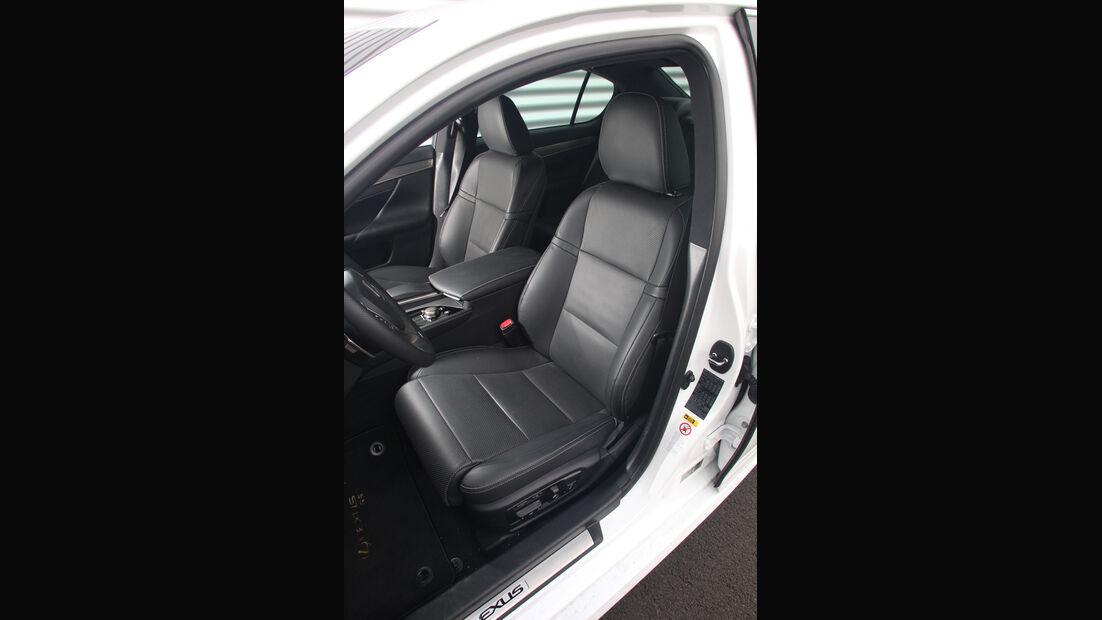 Lexus GS 450h F-Sport, Fahrersitz