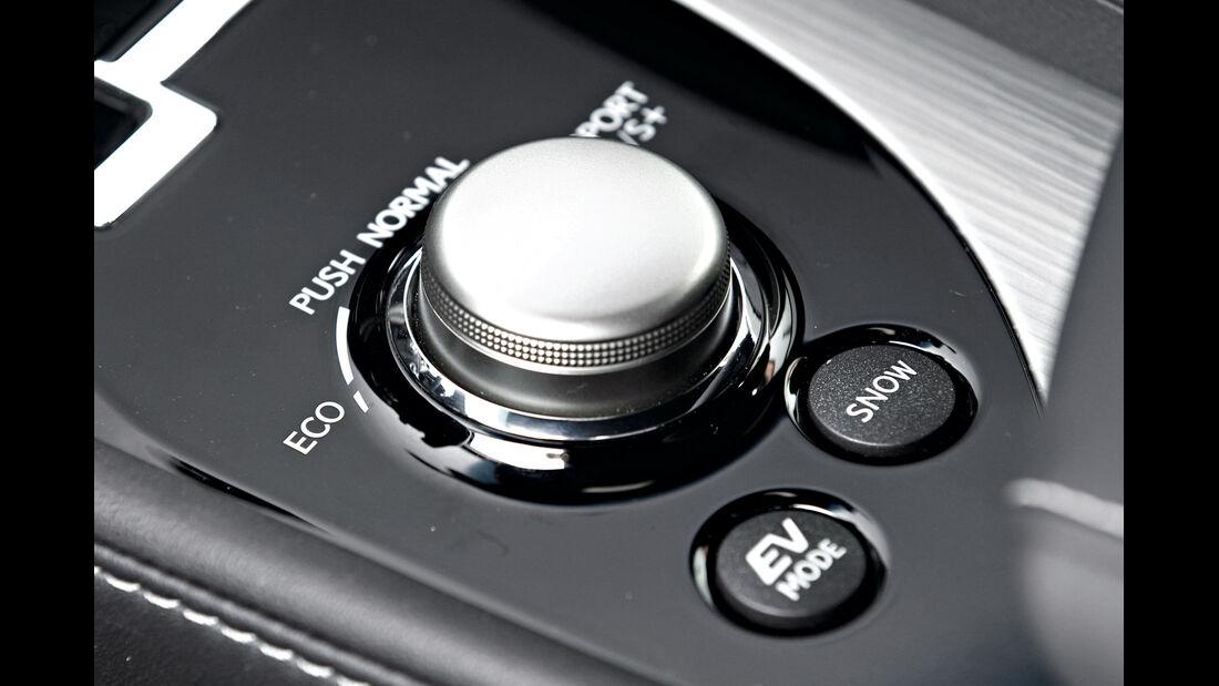 Lexus GS 450h, Fahrmodus, Regler