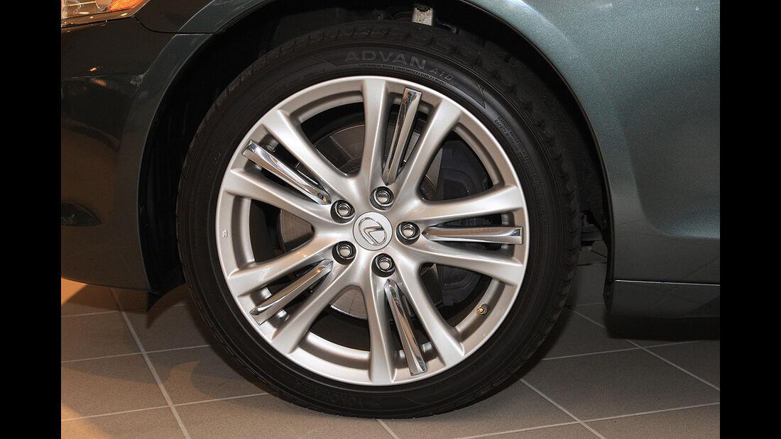 Lexus GS 450h, Felge