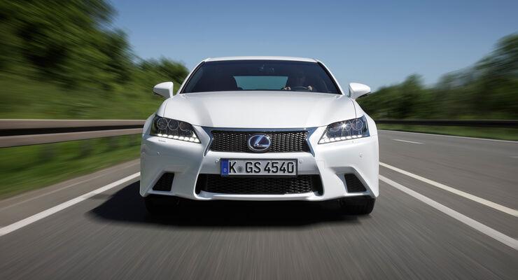 Lexus GS 450h, Frontansicht