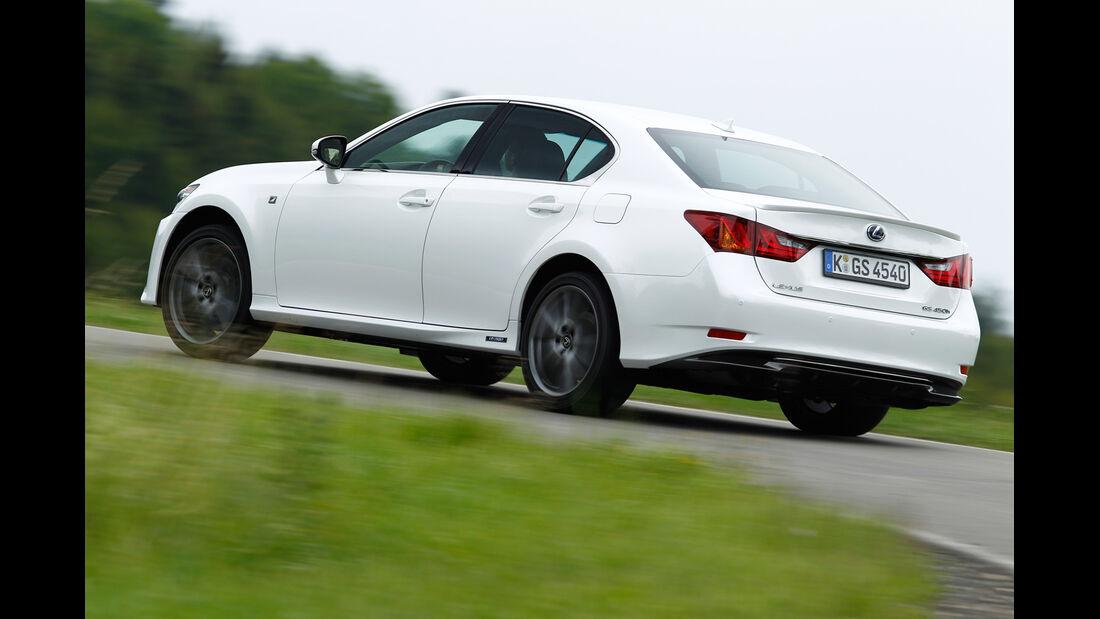 Lexus GS 450h, Heckansicht