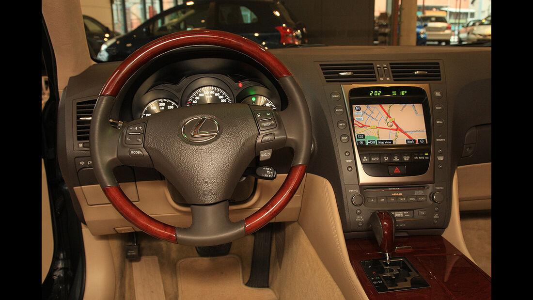 Lexus GS 450h, Innenraum, Cockpit