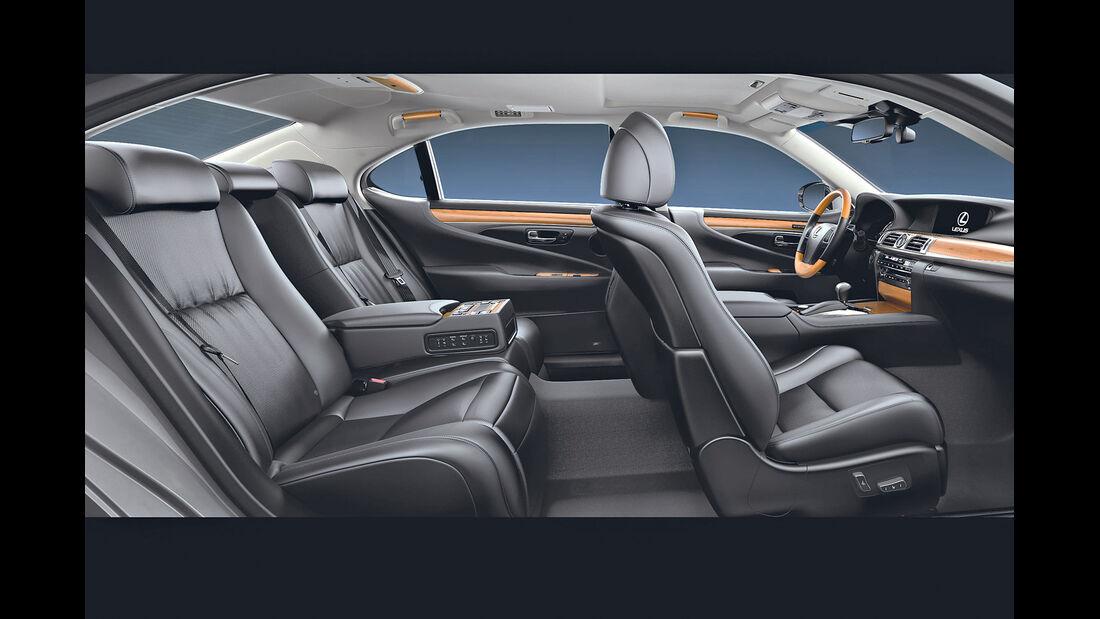 Lexus GS 450h, Innenraum, Sitze