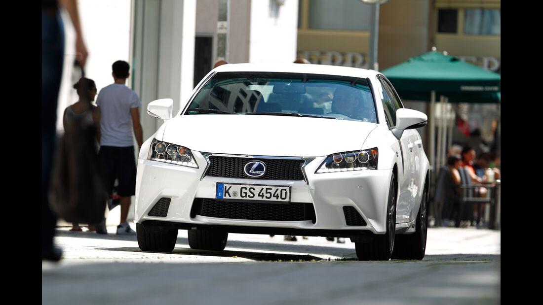 Lexus GS 450h, Kofferraum